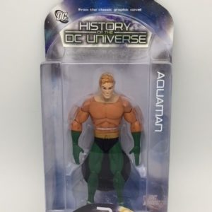 AQUAMAN Figurine articulée - History of DC Universe Series 2 - DC Direct - Collector Action Figure - 761941281469 – In Box - Kingdom Figurine