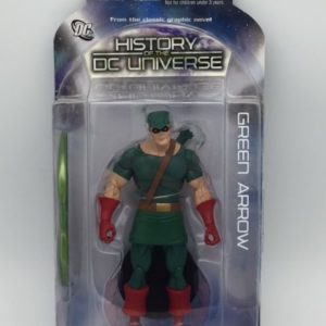 GREEN ARROW Figurine articulée - History of DC Universe Series 1 - DC Direct - Collector Action Figure - 761941280752 – In Box - Kingdom Figurine