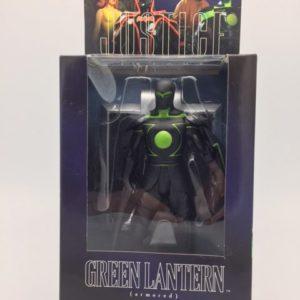 GREEN LANTERN ARMORED Figurine articulée - Collector Action Figure - ALEX ROSS JUSTICE LEAGUE SERIES 6 DC DIRECT – 761941260358 – In Box - Kingdom Figurine