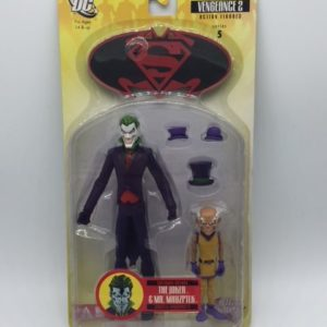 JOKER & Mr. MXYZPTLK figurine articulée- Batman-Superman - Vengeance 2 - series 5 - DC Direct – 761941266725 – in box - Kingdom Figurine