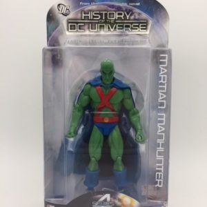 MARTIAN MANHUNTER History of DC Universe Series 4 - DC Direct - 761941289090 - IN BOX - 4- Kingdom Figurine