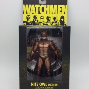 NITE OWL (Modern) WATCHMEN MOVIE COLLECTOR ACTION FIGURE DC COMICS SERIES 1 DC DIRECT – 761941275895 – In Box - Kingdom Figurine