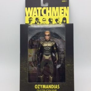 OZYMANDIAS - WATCHMEN MOVIE COLLECTOR ACTION FIGURE - DC COMICS SERIES 1 - DC DIRECT –761941275888 – In Box - Kingdom Figurine