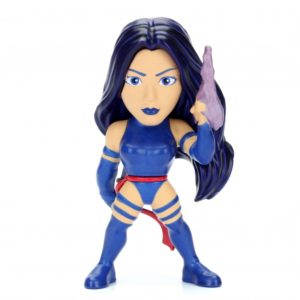 PSYLOCKE – Figurine Métal - X-MEN MARVEL - Jada METALS DIE CAST - M355 – 801310980972 – Face – Kingdom Figurine