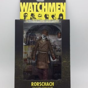RORSCHACH - WATCHMEN MOVIE COLLECTOR ACTION FIGURE - DC COMICS SERIES 1 - DC DIRECT –761941275871 – In Box - Kingdom Figurine