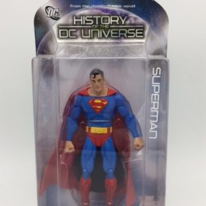 Superman Figurine Articulée - Collector -action -Figure - History of DC Universe Series 3 - 761941283630 _ IN BOX _ kINGDOM fIGURINE 1