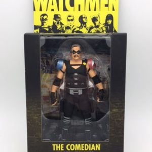 THE COMEDIAN - Collector Action Figure - Watchmen Movie DC Comics - Series 2 - DC Direct – 761941277028 – In Box - Kingdom Figurine