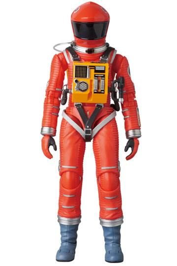 2001, L'ODYSSÉE DE L'ESPACE FIGURINE ARTICULÉE - MAF EX SPACE SUIT ORANGE VERSION - MEDICOM TOY - 16 CM - 4530956470344 - 1 - kingdom-figurine.fr
