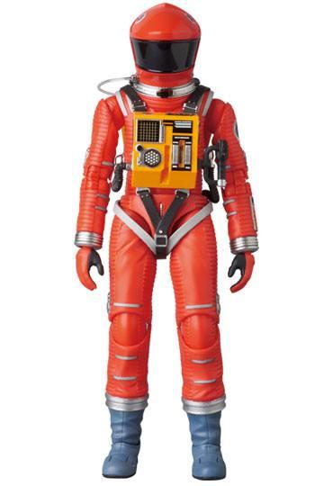 2001, L'ODYSSÉE DE L'ESPACE FIGURINE ARTICULÉE - MAF EX SPACE SUIT ORANGE VERSION - MEDICOM TOY - 16 CM - 4530956470344 - 1 - kingdom-figurine.fr