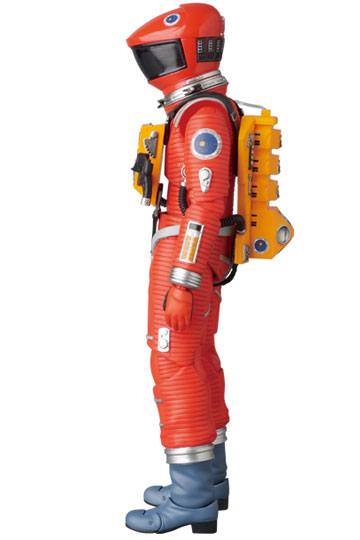 2001, L'ODYSSÉE DE L'ESPACE FIGURINE ARTICULÉE - MAF EX SPACE SUIT ORANGE VERSION - MEDICOM TOY - 16 CM - 4530956470344 - 2 - kingdom-figurine.fr