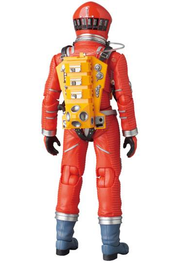 2001, L'ODYSSÉE DE L'ESPACE FIGURINE ARTICULÉE - MAF EX SPACE SUIT ORANGE VERSION - MEDICOM TOY - 16 CM - 4530956470344 - 3 - kingdom-figurine.fr