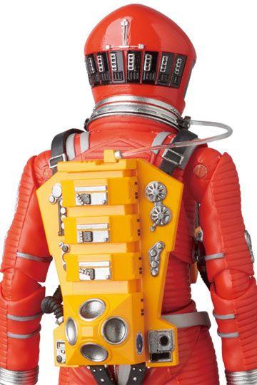 2001, L'ODYSSÉE DE L'ESPACE FIGURINE ARTICULÉE - MAF EX SPACE SUIT ORANGE VERSION - MEDICOM TOY - 16 CM - 4530956470344 - 4 - kingdom-figurine.fr