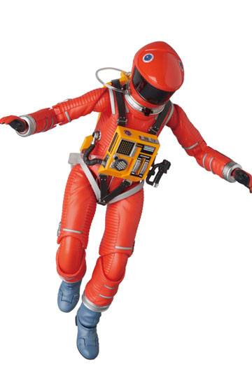 2001, L'ODYSSÉE DE L'ESPACE FIGURINE ARTICULÉE - MAF EX SPACE SUIT ORANGE VERSION - MEDICOM TOY - 16 CM - 4530956470344 - 6 - kingdom-figurine.fr