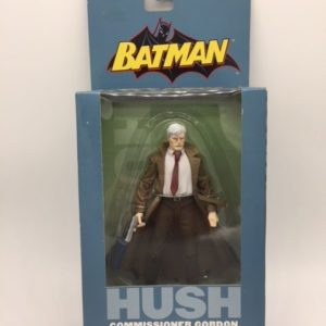 COMMISSAIRE GORDON FIGURINE ARTICULÉE - BATMAN HUSH SERIES 3 – DC DIRECT – 761941246956 – In Box - KINGDOM FIGURINE