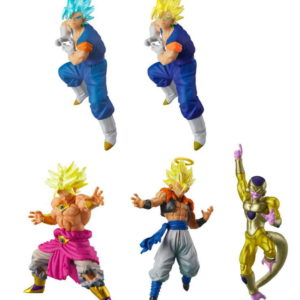 DBZ GASHAPON DRAGON BALL SUPER VS DRAGON BALL SP02- BANDAI - SET DE 5 MINI FIGURINES 5 CM - 4549660246190 - kingdom-figurine.fr
