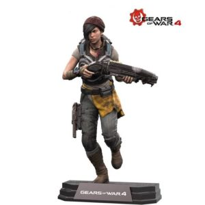 KAIT DIAZ FIGURINE ARTICULÉE - GEARS OF WAR 4 - COLOR TOP - Mc FARLANE TOYS - 18 CM -(1) -787926120073 - kingdom-figurine.fr