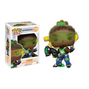 LUCIO FIGURINE - OVERWATCH -FUNKO POP 179 - 889698130882 - kingdom-figurine.fr
