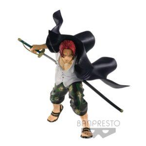 SHANKS FIGURINE - ONE PIECE SWORDSMEN VOL. 2 - BANPRESTO 12 CM - 3296580270651 - kingdom-figurine.fr