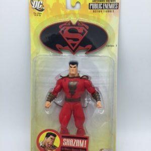 SHAZAM FIGURINE ARTICULÉE - BATMAN-SUPERMAN – PUBLIC ENEMIES 2 SERIES 1 - DC DIRECT – 761941249414 – in box - KINGDOM FIGURINE