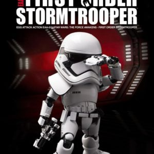 STORMTROOPER FIRST ORDER FIGURINE ARTICULÉE EGG ATTACK - STAR WARS ÉPISODE VII - BEAST KINGDOM TOYS - 15 CM - 4712896107058 - 1 - kingdom-figurine.fr