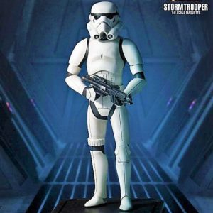STORMTROOPER STATUETTE RÉSINE - ÉDITION LIMITÉE - STARS WARS REBELS - GENTLE GIANT - 23 CM - 814176020409 -kingdom-figurine.fr