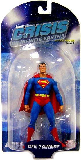 SUPERMAN FIGURINE ARTICULÉE - CRISIS INFINITE EARTH SERIES 2 - DC DIRECT – 761941250120 – In Box - KINGDOM FIGURINE