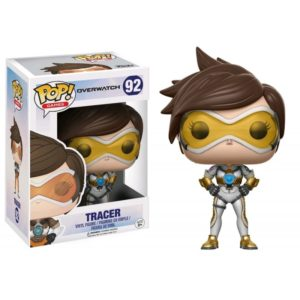 TRACER SPECIAL COLOR EXCLU FIGURINE -OVERWATCH -FUNKO POP 92 - 889698134415 - kingdom-figurine.fr