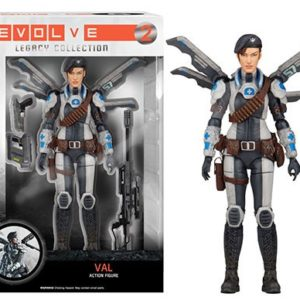 VAL FIGURINE ARTICULÉE - EVOLVE - FUNKO LEGACY COLLECTION - 15 CM - 849803052942 - kingdomfigurine.fr