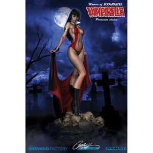 VAMPIRELLA STATUE - WOMEN OF DYNAMITE - BY J. SCOTT CAMPBELL - DYNAMITE ENTERTAINMENT - 30 CM – 725130233578 – kingdom-figurine.fr