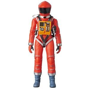 2001, L'ODYSSÉE DE L'ESPACE FIGURINE ARTICULÉE -MAF EX SPACE SUIT ORANGE VERSION - MEDICOM TOY -16 CM - 4530956470344 - kingdom-figurine.fr