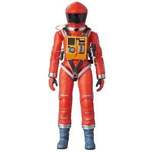 2001, L'ODYSSÉE DE L'ESPACE FIGURINE ARTICULÉE -MAF EX SPACE SUIT ORANGE VERSION - MEDICOM TOY -16 CM - 4530956470344 - kingdom-figurine.fr