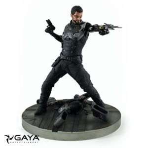 ADAM JENSEN FIGURINE PVC - DEUS EX MANKIND DIVIDED - GAYA ENTERTAINMENT - 21 CM - 1 - 4260474511563 - kingdom-figurine.fr