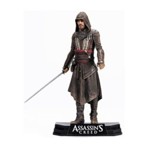 AGUILAR FIGURINE ARTICULÉE - ASSASSIN'S CREED - COLOR TOPS - Mc FARLANE TOYS - 18 CM - 787926810714 - kingdom-figurine.fr