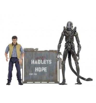 ALIENS HADLEY'S HOP PACK 2 FIGURINES ARTICULÉES - ALIEN - NECA - 18 CM - 0 - NECA51671 – 634482516713 – kingdom-figurine.fr
