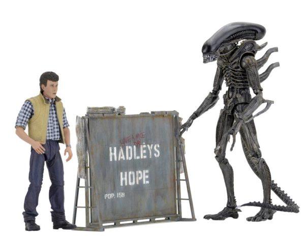 ALIENS HADLEY'S HOP PACK 2 FIGURINES ARTICULÉES - ALIEN - NECA - 18 CM - 1 - NECA51671 – 634482516713 – kingdom-figurine.fr