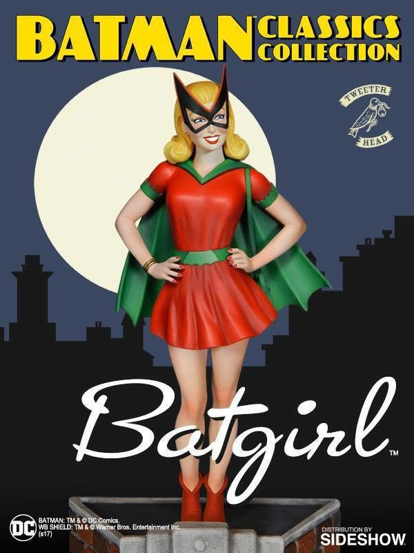 BATGIRL CLASSIC STATUETTE RÉSINE - BATMAN CLASSICS COLLECTION MAQUETTE - DC COMICS - TWEETERHEAD - 28 CM - 040232665295 - 5 - kingdom-figurine.fr