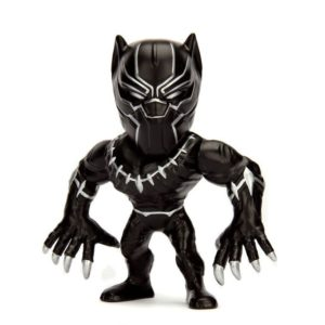BLACK PANTHER FIGURINE - MARVEL CIVIL WAR - JADA - METALS DIE CAST M47 – (1) - 801310975602 – kingdom-figurine.fr
