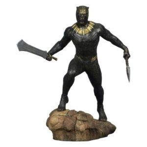 BLACK PANTHER STATUETTE - MARVEL GALLERY - BLACK PANTHER MOVIE KILLMONGER - DIAMOND SELECT TOYS - 23 CM - 1 - DIAMJAN182376 – 699788828489 – kingdom-figurine.fr