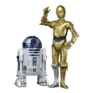 C-3PO & R2-D2 PACK 2 STATUETTES PVC - ARTFX - ÉCHELLE 1-10 - STAR WARS - KOTOBUKIYA - 10 CM &17 CM - 4934054901425 - kingdom-figurine.fr