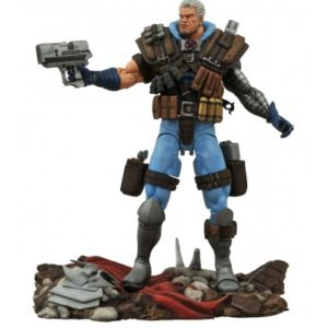 CABLE FIGURINE ARTICULÉE - MARVEL - DIAMOND SELECT TOYS - 18 CM - 699788179420 - kingdom-figurine.fr