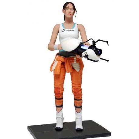 CHELL FIGURINE ARTICULÉE -PORTAL 2 - NECA - 18 CM - 634482453254 - kingdom-figurine.fr