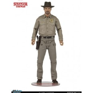 CHIEF HOPPER FIGURINE ARTICULÉE - STRANGER THINGS - NETFLIX - Mc FARLANE TOY - 18 CM – MCF99430-8 – 787926994315 – kingdom-figurine.fr