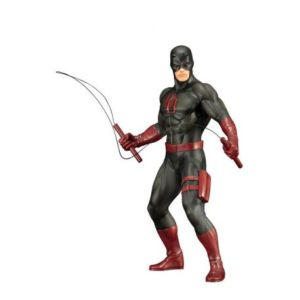 DAREDEVIL BLACK SUIT STATUETTE PVC - ARTFX+ - ÉCHELLE 1-10 - MARVEL'S THE DEFENDERS - KOTOBUKIYA - 19 CM - 4934054093434 - figurine-collector.fr