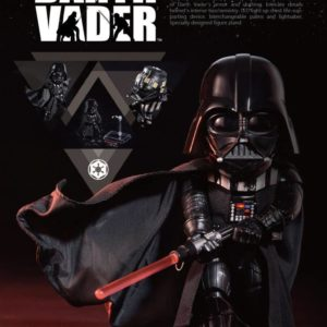 DARTH VADER (DARK VADOR) FIGURINE ARTICULÉE - STAR WARS - EGG ATTACK - BEAST KINGDOM TOYS - 16 CM – 4712896104958 – kingdom-figurine.fr