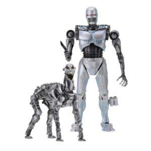 ENDOCOP & TERMINATOR DOG PACK 2 FIGURINES ARTICULÉES -ROBOCOP VS TERMINATOR -NECA - 18 CM - 634482420782 - kingdom-figurine.fr