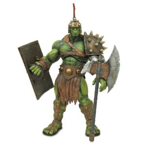HULK GLADIATOR FIGURINE ARTICULÉE - PLANET HULK- MARVEL - EXCLUSIVITÉ DISNEY - DIAMOND SELECT - 24 CM - 5054504760965 - 4 - kingdom-figurine.fr