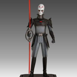 INQUISITOR STATUETTE RÉSINE - STAR WARS REBELS - GENTLE GIANT - 24 CM - 3 - GENT80414 – 871810010653 – kingdom-figurine.fr