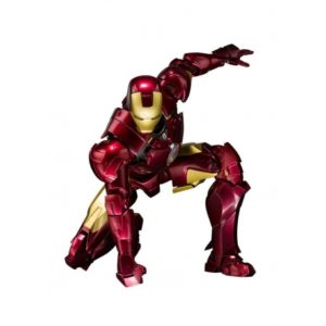 IRON MAN MARK V HALL OF ARMOR SET FIGURINE ARTICULÉE - IRON MAN 2 - S.H. FIGUARTS - TAMASHII NATIONS - WEB EXCLU - 14 CM - 4549660208709 - kingdom-figurine.fr
