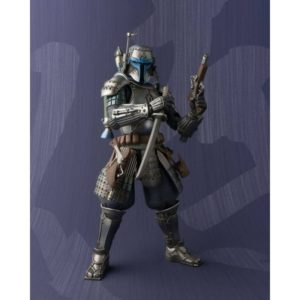 JANGO FETT RONIN FIGURINE ARTICULÉE - STAR WARS -MEISHO MOVIES REALIZATION -TAMASHII NATIONS - 17 CM - 4549660077879 - kingdom-figurine.fr