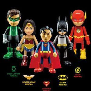 JUSTICE LEAGUE PACK 5 FIGURINES ARTICULÉES - MINI HYBRID - HEROCROSS- 7 CM - 2 - 5329727336616233 - kingdom-figurine.fr